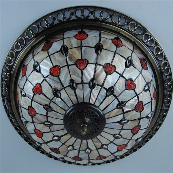 Tiffany E26/E27 Vintage Ceiling Light CL219