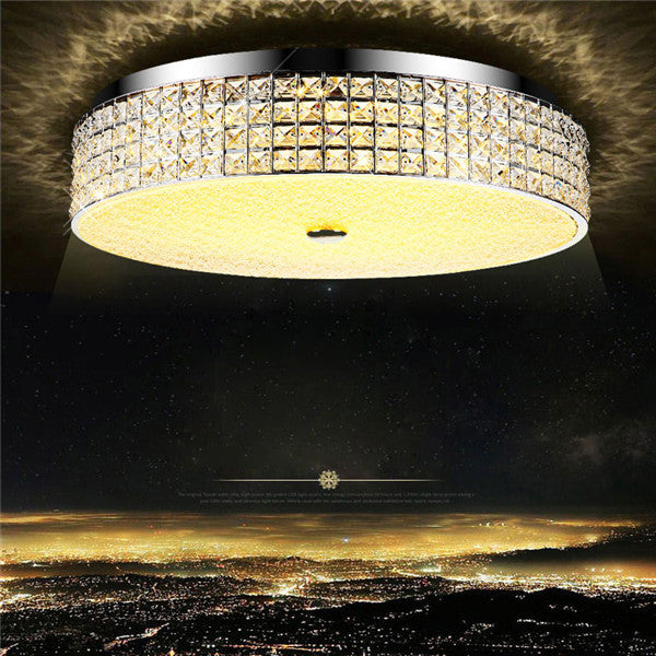 LED Modern Crystal Circular Luxury Ceiling Lamp CL222
