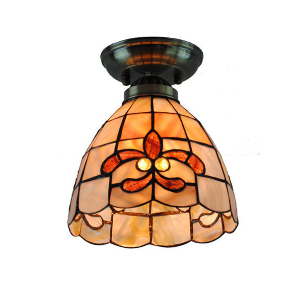 Tiffany Lily Shell Ceiling Light CL230 - Cheerhuzz