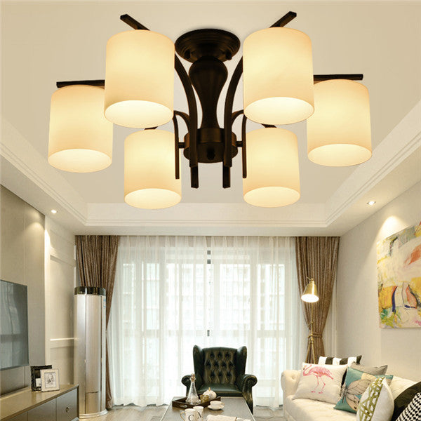 6 Lights Glass Ceiling Lamp CL231-6 - Cheerhuzz