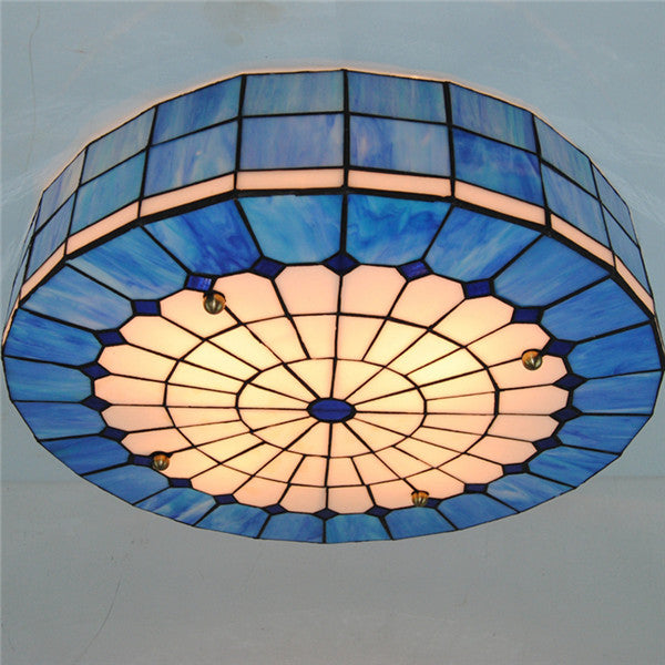 20 Inch Tiffany Stained Glass Ceiling Light CL234 - Cheerhuzz
