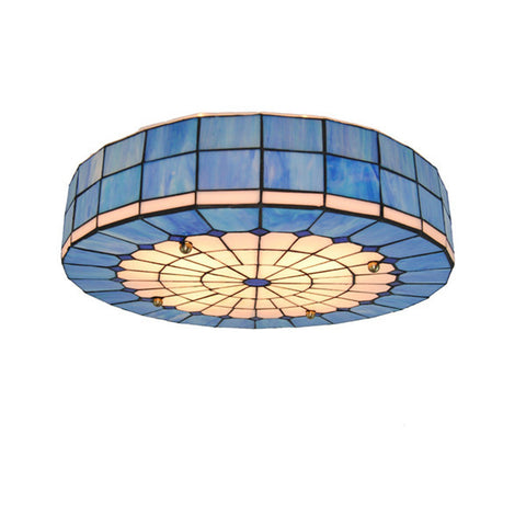20 Inch Tiffany Stained Glass Ceiling Light CL234