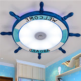 Cartoon LED Rudder Flush Mount Lamp CL242 - Cheerhuzz