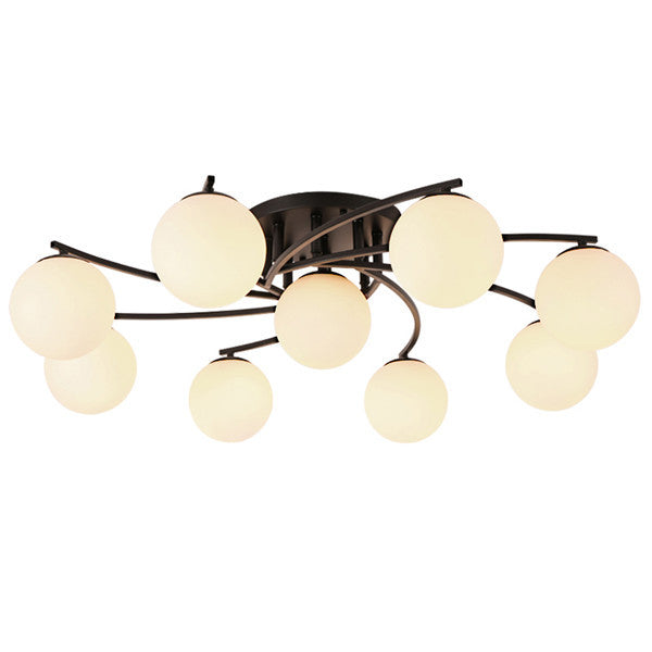 Modern 3/5/9 Glass Ball Chandeliers Fixture CL248