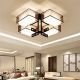 Modern Black Fabric Ceiling Light CL249