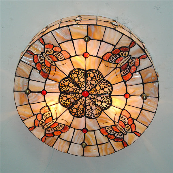 Tiffany Butterfly Ceiling Light CL262 - Cheerhuzz