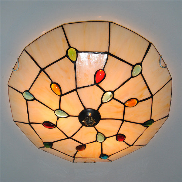 Tiffany Stained Glass Ceiling Lamp CL270 - Cheerhuzz