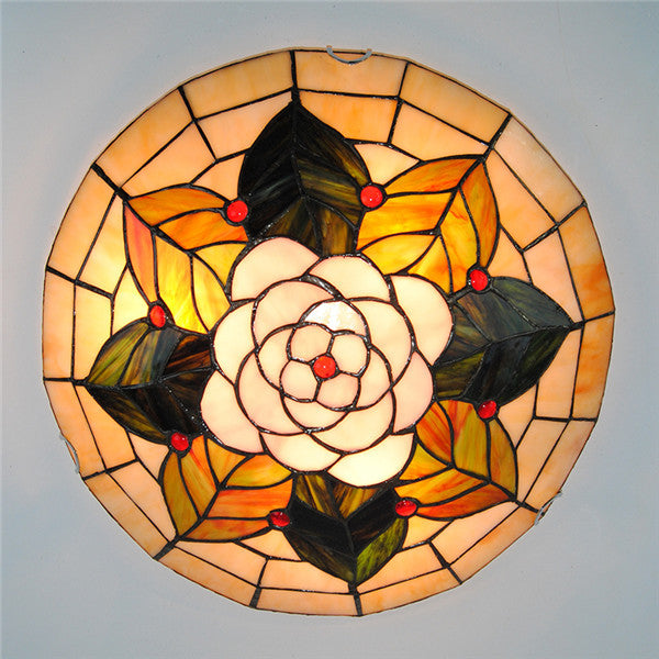 "16"" Tiffany Flower Pattern Ceiling Lights CL273 - Cheerhuzz"