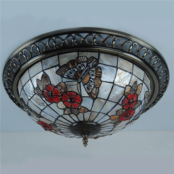 Tiffany Butterfly Ceiling Light CL274 – Cheerhuzz