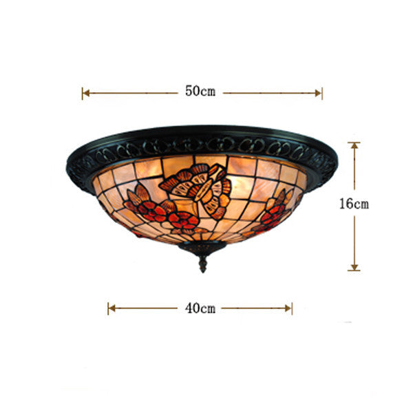 Tiffany Butterfly Ceiling Light CL274 - Cheerhuzz