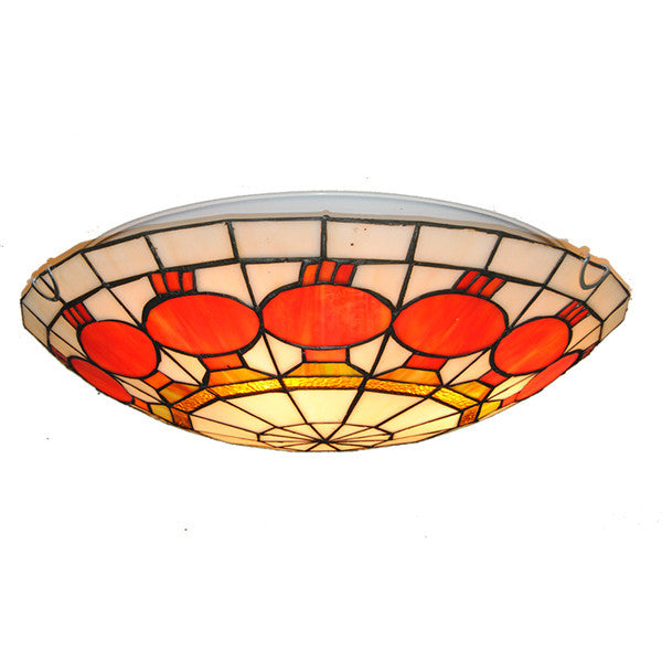 Simple Lanterns Pattern Flush Mount Light CL279