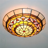Antique Tiffany Stained Glass Ceiling Lamp CL286 - Cheerhuzz