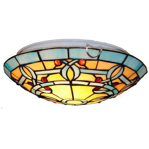 "7"" Tiffany Stained Glass Ceiling Light CL252"