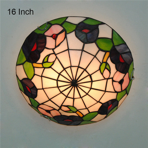 12/16 Inch Tiffany Stained Glass Ceiling Lighting CL289 - Cheerhuzz