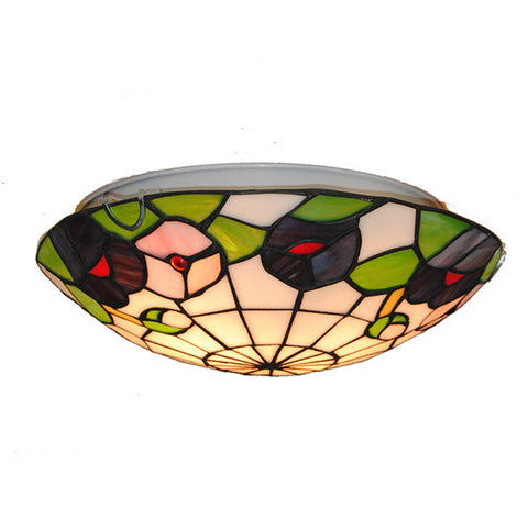 Tiffany Flower Stained Glass Ceiling Light CL253