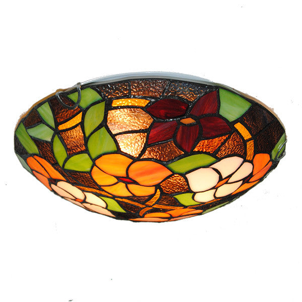 2/3 Lights Tiffany Flowers Pattern Ceiling Light CL291 - Cheerhuzz