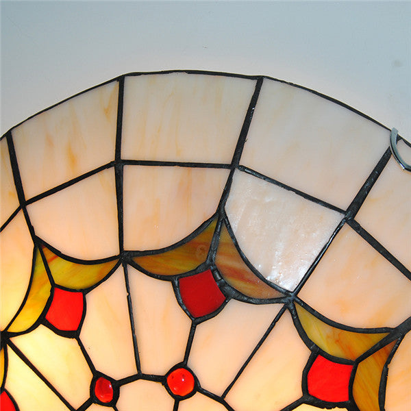 Tiffany Stained Glass Ceiling Lighting Fixture CL294