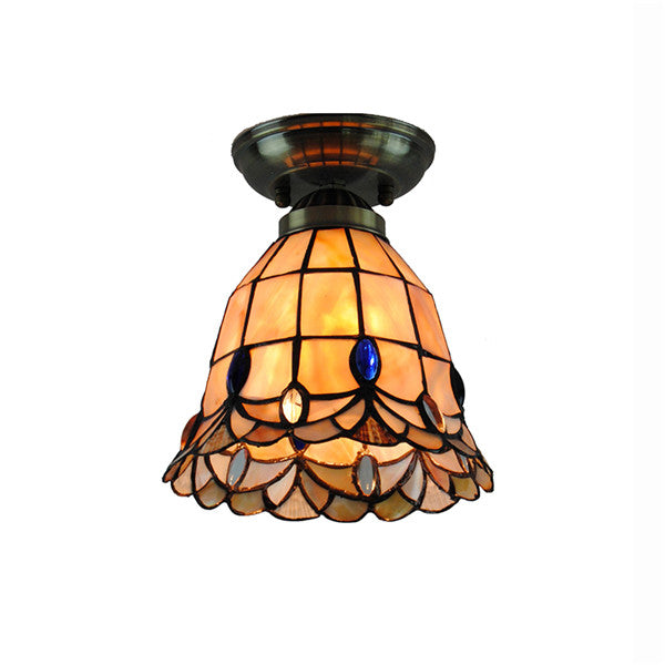 Brief Stained Glass Hanging Lamps CL297 - Cheerhuzz