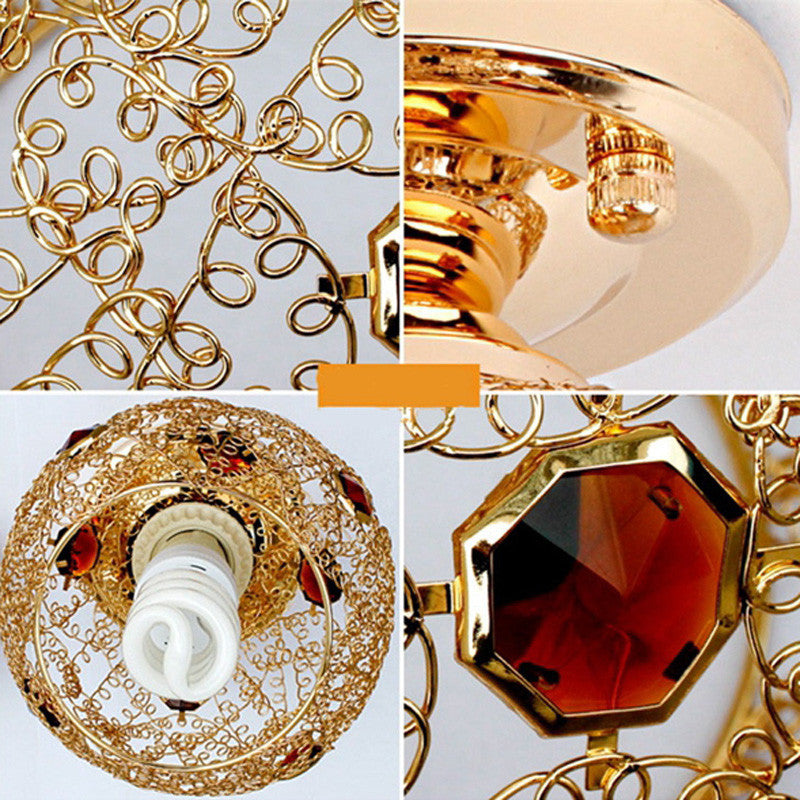 Modern Luxury Crystal Ceiling Light CL8