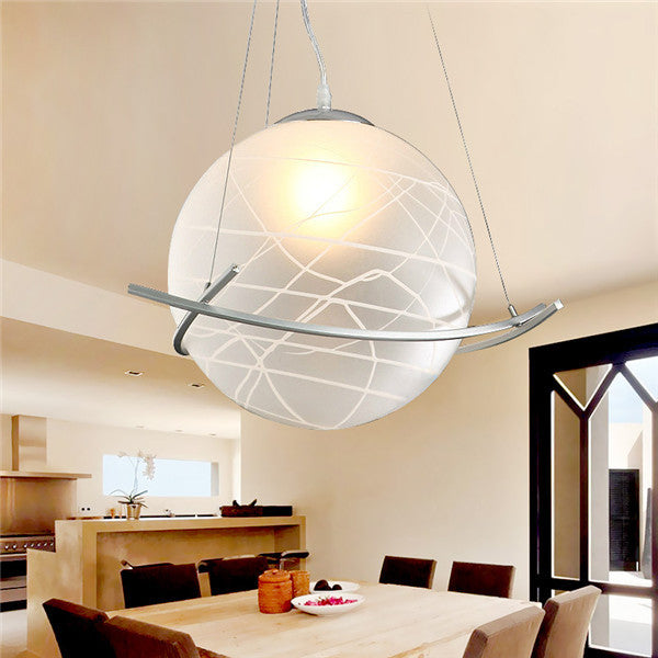 Creative Glass Ball Pendant Lamp D2 - Cheerhuzz