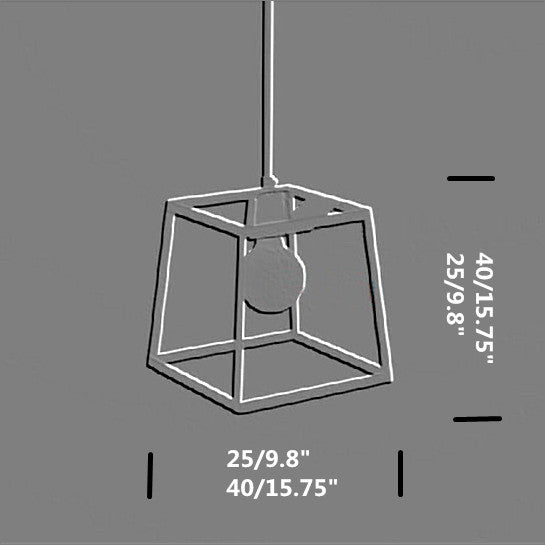 The Geometric Pendant Light PL119 - Cheerhuzz
