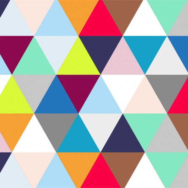 Geometric Wall Murals Kaleidoscope Harlequin Wallpaper WP153