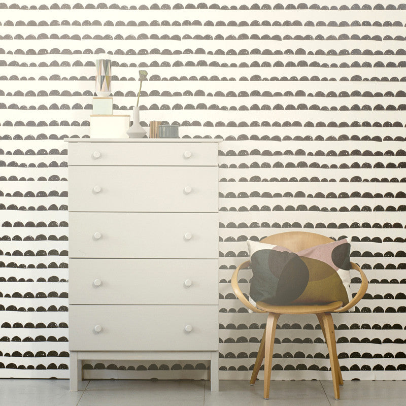 Half Moon Wallpaper by Ferm Living WP154 - Cheerhuzz