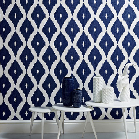 KELLYS IKAT WALLPAPER by Kelly Hoppen WP165
