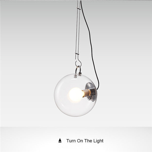 Modern Simple Glass Bubble Ball Pendant Light LD024 - Cheerhuzz