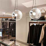Modern Simple Glass Bubble Ball Pendant Light LD024