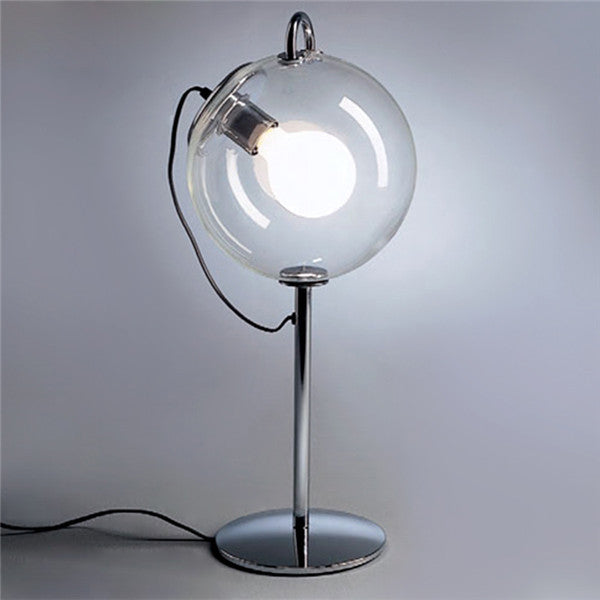 Modern Clear Bubble Glass Table Lamp LT024-25