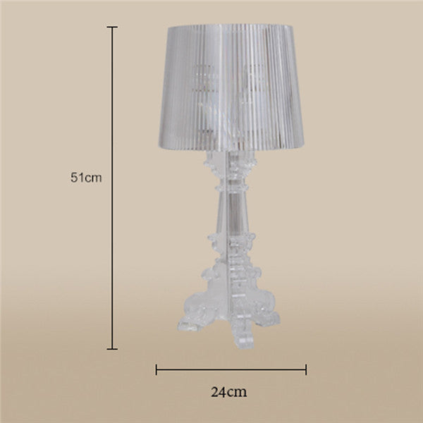 American Retro Acrylic Table Lamp LT122 - Cheerhuzz