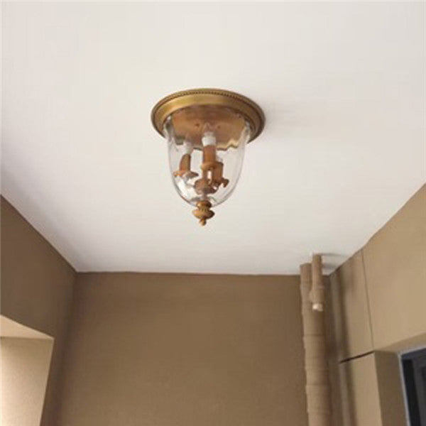 American Creative Copper Ceiling Lamp CL163