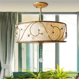 American Style Ceiling Light Crystal Pendant Lamp CL206