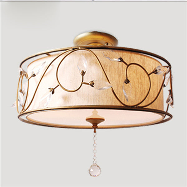 American Style Ceiling Light Crystal Pendant Lamp CL206 - Cheerhuzz