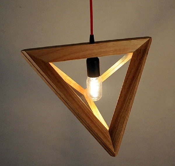 Wood Pendant Lamp PL256 - Cheerhuzz
