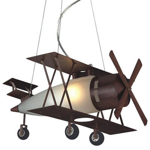 The Prop Plane Pendant Elk Lighting Kid's Chandelier CL107