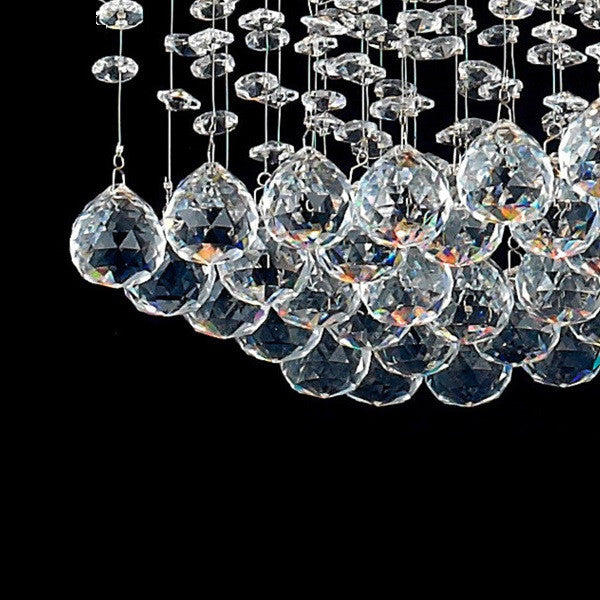 Rain Drop Crystal Chandelier PL336 - Cheerhuzz