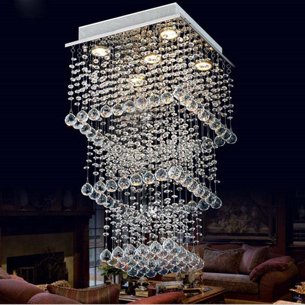 Rain Drop Crystal Chandelier PL336