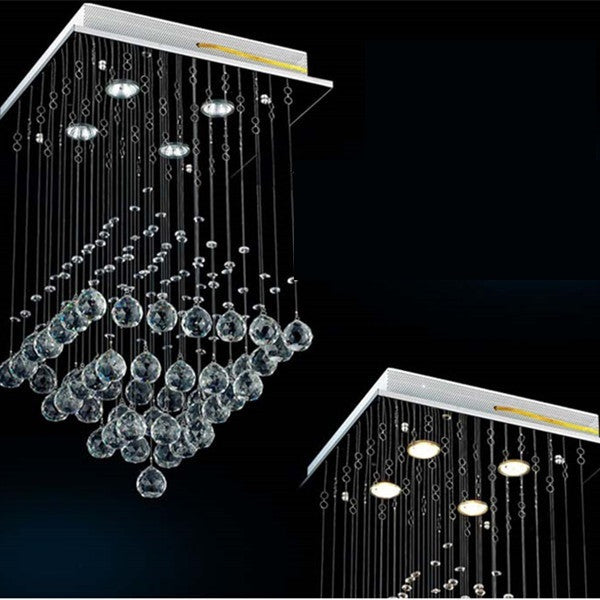 Crystal RainDrop Chandelier PL337 - Cheerhuzz