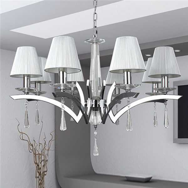 Comtemporary Crystal Chandelier Pendant Lamp PL438 - Cheerhuzz