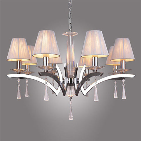 Comtemporary Crystal Chandelier Pendant Lamp PL438