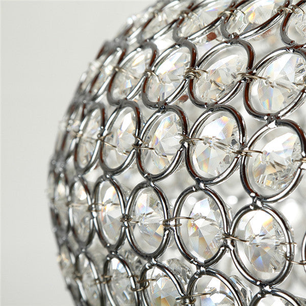 Crystal Chandelier Chrome Lighting PL442 - Cheerhuzz