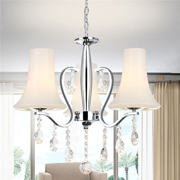 Crystal 3 Lights Pendant Lamp PL445