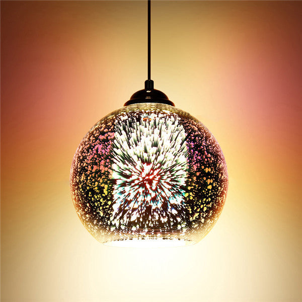 3D Glass Pendant Lights PL448 - Cheerhuzz