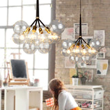 Large Bubble Chandelier By Jean Pelle, Oliver Pelle for PELLE PL455