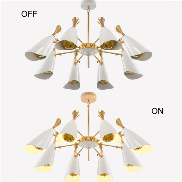 Modern Musical Horn Suspension Light PL463