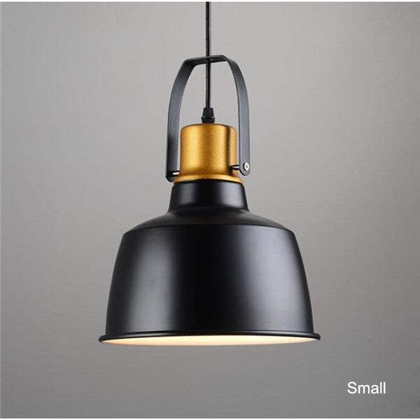 Retro Black Metal Vintage Pendant Light PL465 - Cheerhuzz
