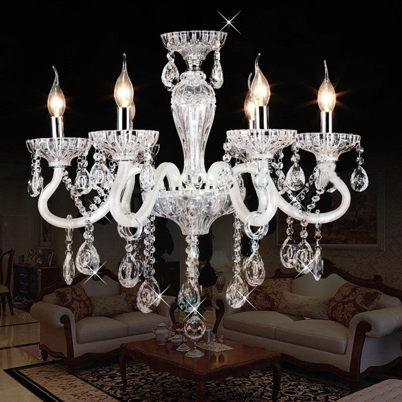 Luxury Transparent Crystal Pendant Light PL474 - Cheerhuzz