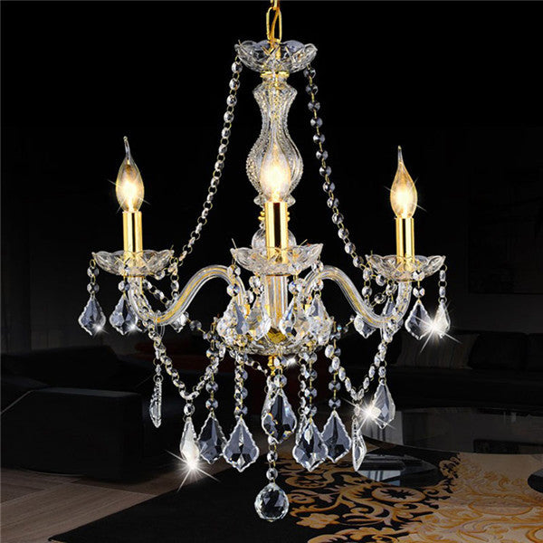 Elegant Luxury Crystal LED Pendant Lamp PL478 - Cheerhuzz